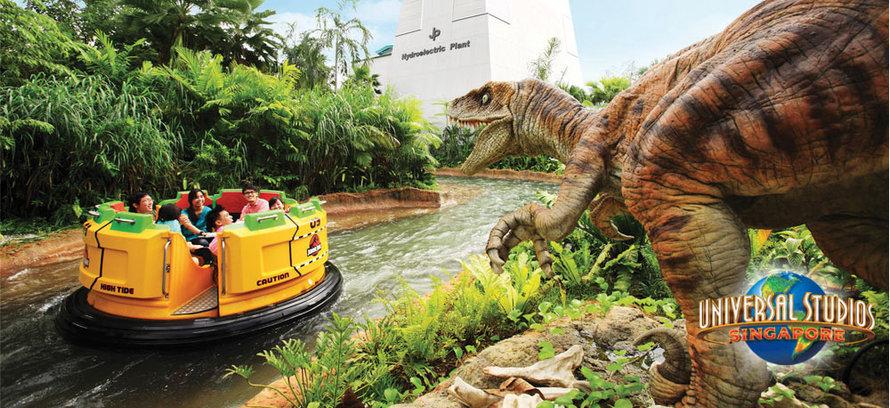 Jurassic Park Rapids Adventure
