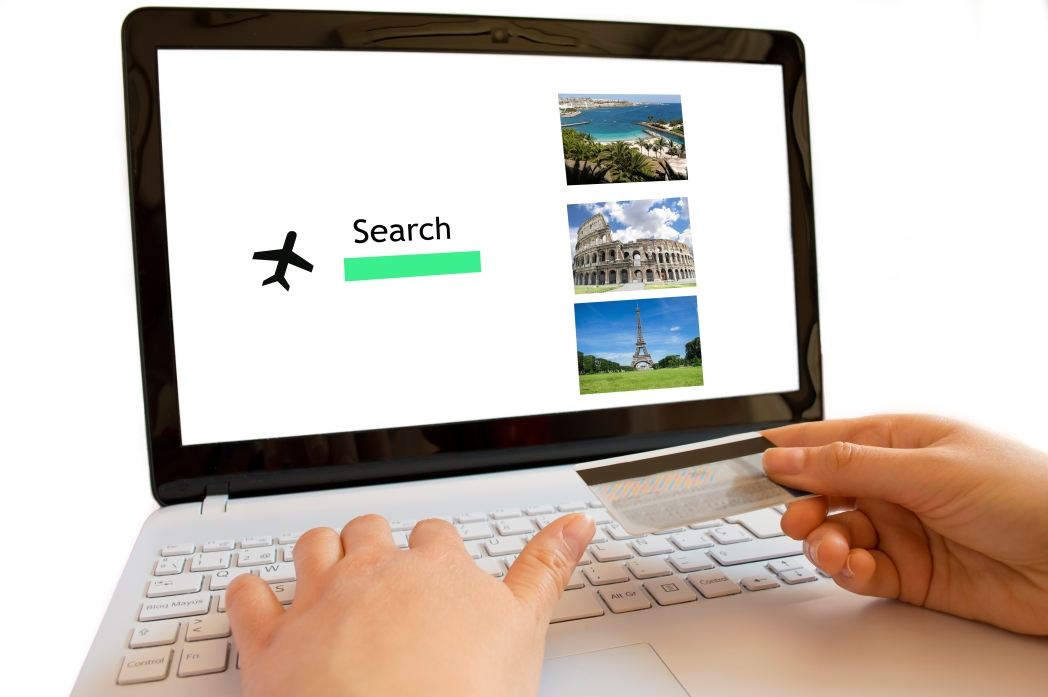 Searching for cheap flight ticket and hotel