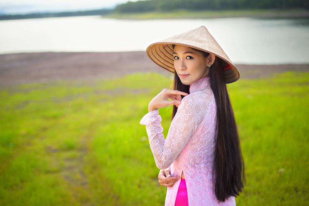 A Vietnamese lady