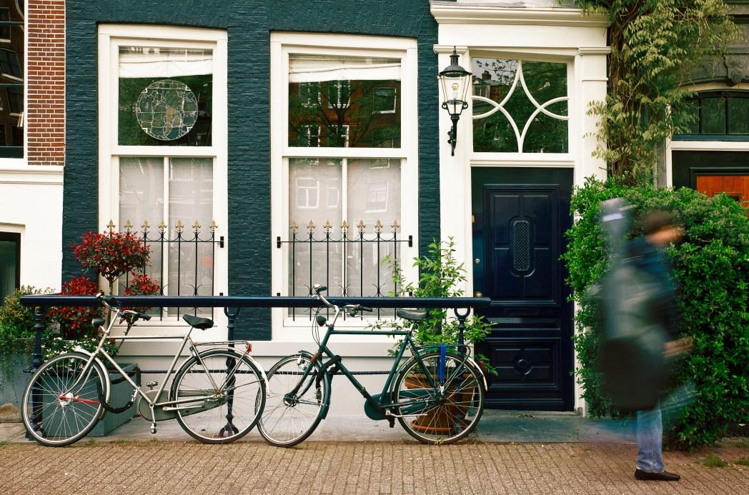 阿姆��特丹的街道