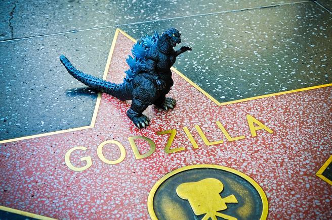 Godzilla at Hollywood Walk of Fame