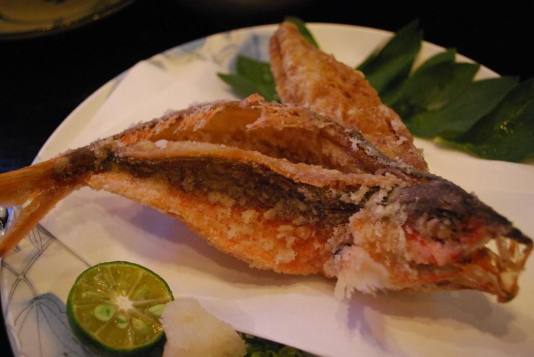 炸高砂魚是「ぐるくん」的名菜