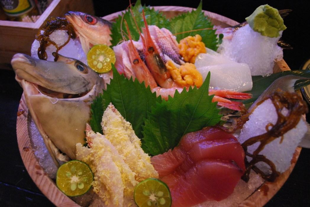「ぐるくん」的新鮮魚生刺身