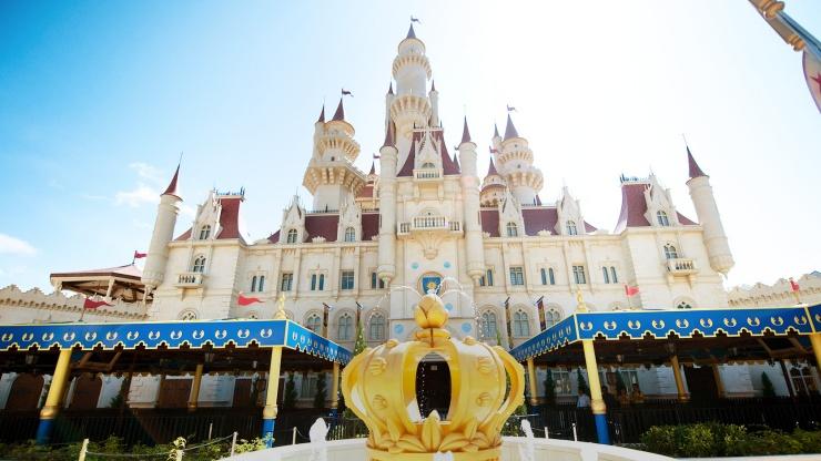 環球影城城堡