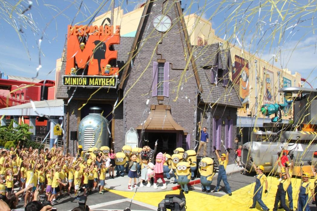 Minion at Universal Studios Hollywood