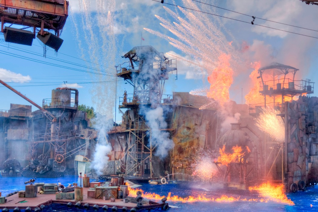 Water World in Universal Studios Hollywood