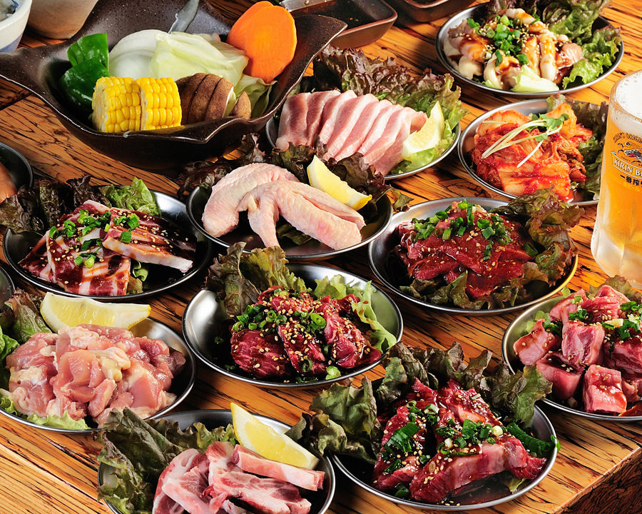 All you can eat meat buffet