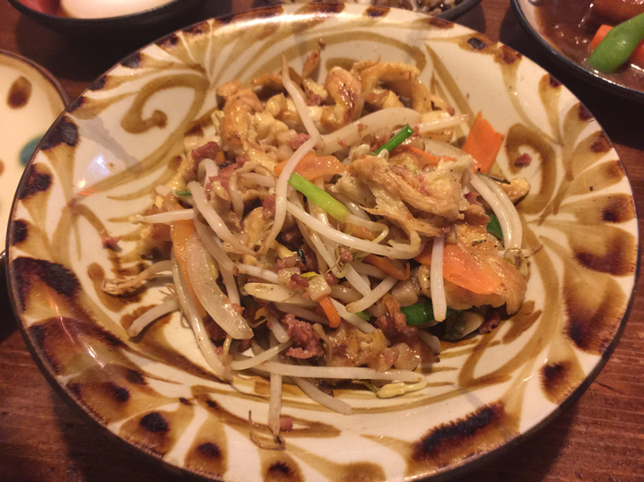 ゆうなんぎい沖繩炒肉